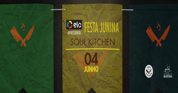 Festa Arraial Soul Kitchen agita Pinheiros com música e comidas juninas Eventos BaresSP 570x300 imagem