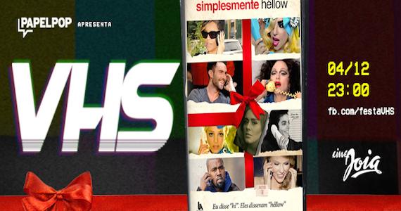 Hits da música pop agitam mais uma festa VHS no Cine Joia Eventos BaresSP 570x300 imagem