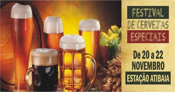 Expresso Bier Fest oferece cervejas especiais na Estação Atibaia Eventos BaresSP 570x300 imagem