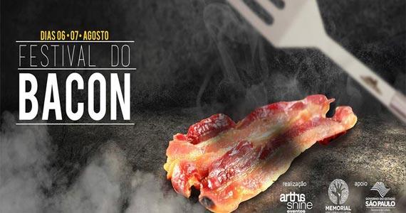1º Festival do Bacon acontece no Memorial da América Latina com muitas delícias Eventos BaresSP 570x300 imagem