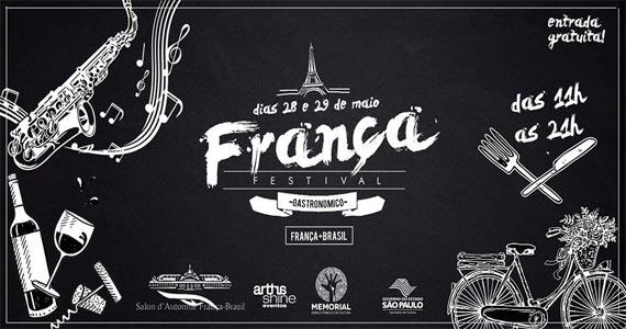 Festival de Gastronomia França   Brasil ao som de jazz acontece no Memorial da América Latina  Eventos BaresSP 570x300 imagem