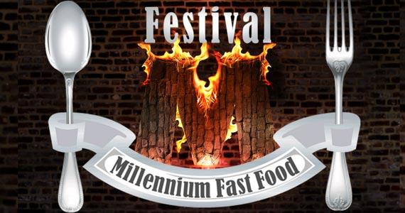 Festival Millennium Fast Food acontece durante os dois primeiros finais de semana de novembro Eventos BaresSP 570x300 imagem