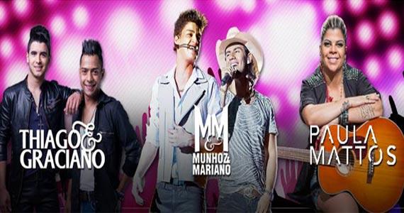 Festival Sertanejo acontece na Villa Country com Munhoz e Mariano, Paula Mattos e Thiago e Graciano Eventos BaresSP 570x300 imagem
