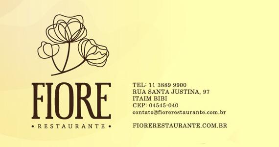 Itaim Bibi recebe inauguração do restaurante Fiore nesta quinta-feira Eventos BaresSP 570x300 imagem