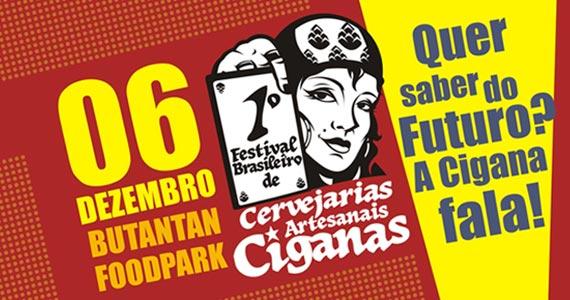 1º Festival Brasileiro de Cervejarias Artesanais Ciganas com show de rock sábado no Butantan Food Park Eventos BaresSP 570x300 imagem