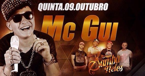 MC Gui e Grupo Samba Neles se apresentam no San Diego Bar Eventos BaresSP 570x300 imagem