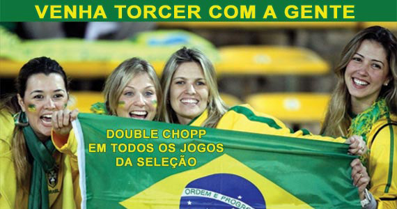Venha torcer e assistir no Autobahn ao Jogo do Brasil com Double Chopp Eventos BaresSP 570x300 imagem