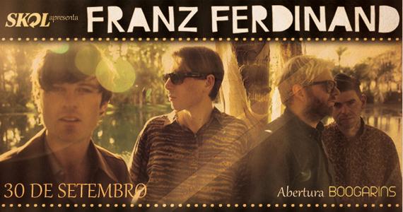 Franz Ferdinand em única apresentação no Espaço das Américas Eventos BaresSP 570x300 imagem