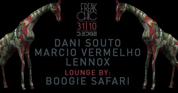 Festa Freak Chic com Dani Souto, Marcio Vermelho e Lennox se apresentam na D Edge Eventos BaresSP 570x300 imagem