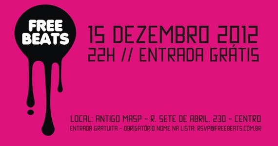 Festa gratuita Free Beats une DJs internacionais e performances visuais no Antigo Masp Eventos BaresSP 570x300 imagem