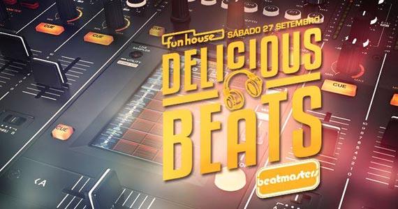 Funhouse embala a noite de sábado com a festa Delicious Beats  Eventos BaresSP 570x300 imagem