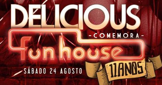Funhouse comemora oficialmente 11 anos com a festa Delicious Eventos BaresSP 570x300 imagem