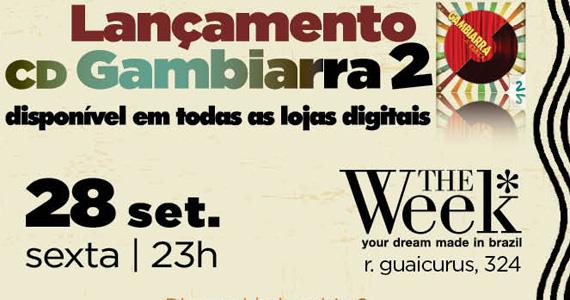 Gravadora Warner realiza festa de lançamento do CD digital Gambiarra  Eventos BaresSP 570x300 imagem