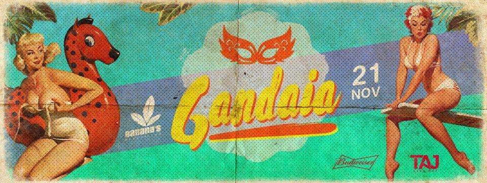 Banana's Beach Club realiza a Festa Gandaia com DJ Vitinho Carioca e convidados Eventos BaresSP 570x300 imagem