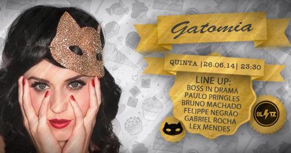 Festa Gatomia com Line Up de Paulo Pringles e Convidados na Blitz Eventos BaresSP 570x300 imagem