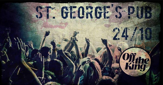 Banda Off The King agita o sábado a noite do St Georges Pub no sábado Eventos BaresSP 570x300 imagem