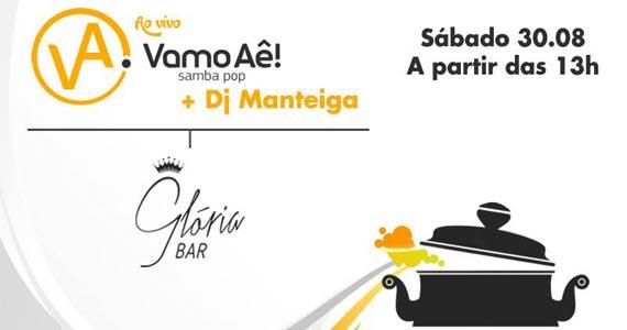 Roda de samba com o grupo Vamo Aê neste sábado no Glória Bar Eventos BaresSP 570x300 imagem
