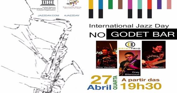Godet Bar apresenta Brisa Trio para o Dia Internacional do Jazz Eventos BaresSP 570x300 imagem