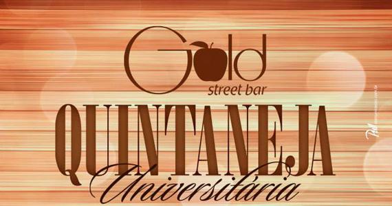 Quintaneja Universitária agita a noite com William Marques & Rubinho no Gold Street Bar Eventos BaresSP 570x300 imagem