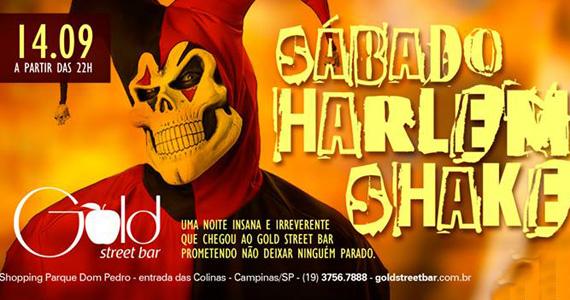 Festa Harlem Shake agita a noite com DJs convidados no Gold Street Bar Eventos BaresSP 570x300 imagem