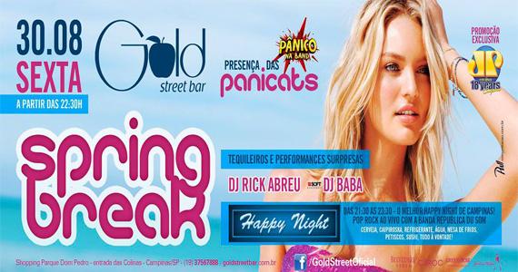 Gold Street Bar recebe festa Spring Break com DJs convidados para agitar a sexta-feira Eventos BaresSP 570x300 imagem