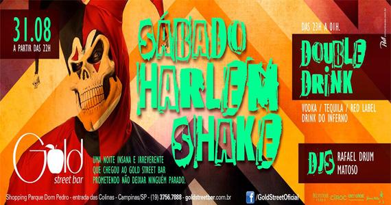 Festa Harlem Shake agita a noite de sábado com DJs convidados na Gold Street Bar Eventos BaresSP 570x300 imagem