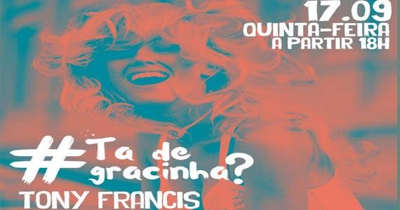 Grácia apresenta Tony Francis tocando sertanejo no Projeto #tadegrcinha? Eventos BaresSP 570x300 imagem
