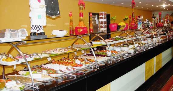 Grill Hall Paulista oferece almoço com diversas opções de pratos frios e quentes e cortes de carnes grelhados na hora Eventos BaresSP 570x300 imagem