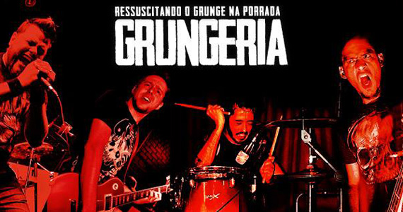 Grungeria embala a noite com muito underground no The Lord Black Irish Pub