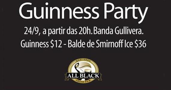 All Black Pub comemora os 253 anos da cerveja irlandesa Guinness Eventos BaresSP 570x300 imagem