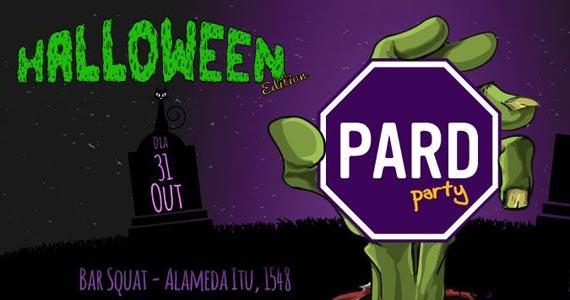 Pad Party com edição especial de Halloween acontece no Bar Squat Eventos BaresSP 570x300 imagem