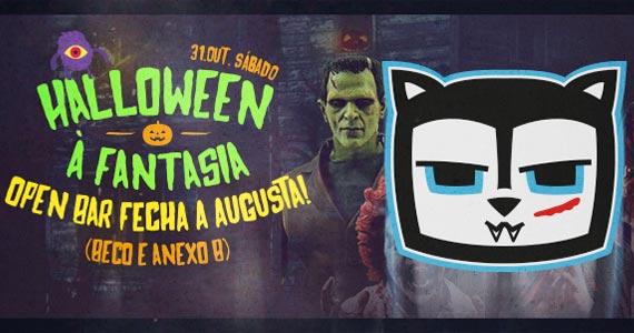 Beco 203 realiza  o Halloween Fecha Augusta com atrações especiais sábado Eventos BaresSP 570x300 imagem