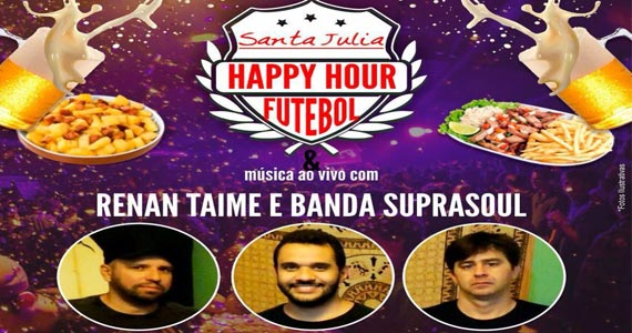 Véspera de feriado tem futebol, música e cerveja no Bar Santa Júlia na sexta Eventos BaresSP 570x300 imagem