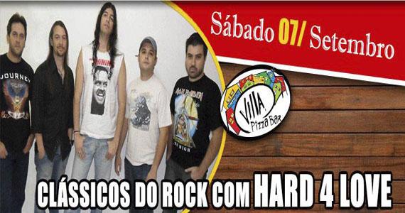 Banda Hard 4 Love apresenta os maiores clássicos do rock na noite do Villa Pizza Bar Eventos BaresSP 570x300 imagem