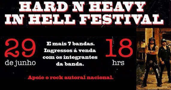 Hard N Heavy In Hell Festival acontece neste domingo no Inferno Club Eventos BaresSP 570x300 imagem