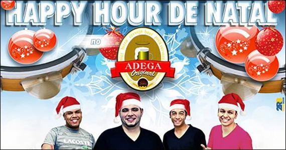 Happy hour de natal com o Grupo Doce Juventude no Adega Original Eventos BaresSP 570x300 imagem