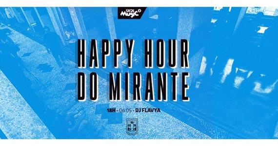 Happy Hour do Mirante tem os agitos da Dj Flavya Eventos BaresSP 570x300 imagem