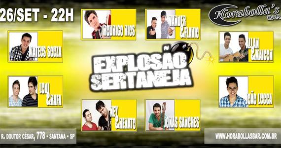 Horabollas oferece nesta quinta-feira a noite Explosão Sertaneja Eventos BaresSP 570x300 imagem