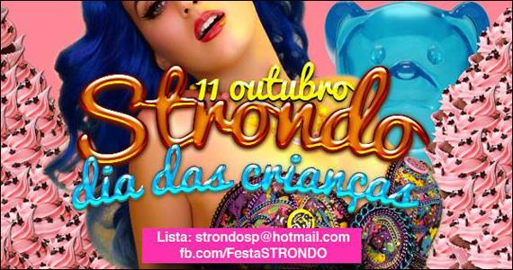 Hot Hot realiza na sexta-feira a Festa Strondo especial Dia das Crianças Eventos BaresSP 570x300 imagem