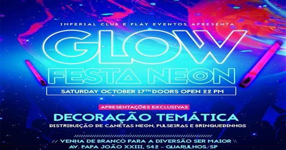 Imperial Club recebe a Festa Glow Party com muitas atrações animando a noite Eventos BaresSP 570x300 imagem