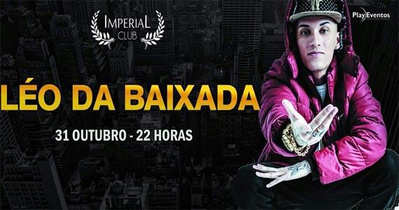 MC Léo da Baixada agita o palco da Imperial Club no sábado a noite Eventos BaresSP 570x300 imagem