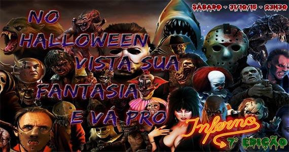 Festa á Fantasia anima a noite de Halloween do Inferno Club no sábado Eventos BaresSP 570x300 imagem