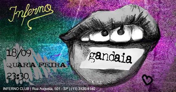 Festa Gandaia agita a quarta-feira com Djs convidados no Inferno Club Eventos BaresSP 570x300 imagem