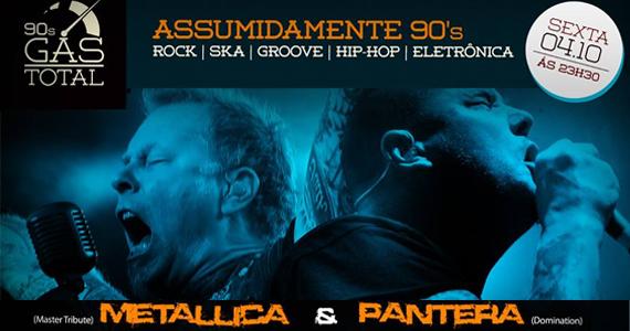 Festa Gás Total 90's tem covers de Metallica e Pantera no Inferno Club Eventos BaresSP 570x300 imagem