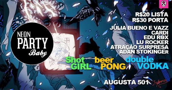 Inferno Club agita a noite desta quinta-feira com a festa Neon Party, Baby Eventos BaresSP 570x300 imagem