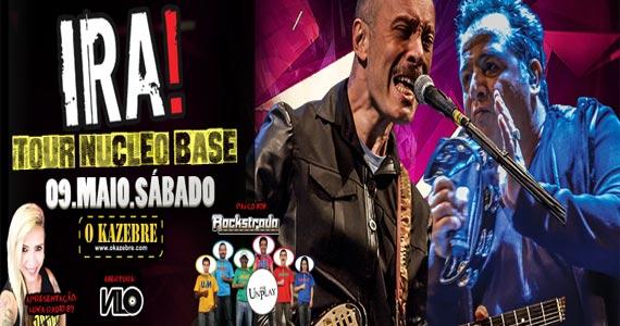 Ira! e convidados tocam sucessos do Rock que marcaram época no Kazebre  Eventos BaresSP 570x300 imagem