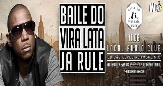 Rapper americano Ja Rule faz show no Baile do Vira Lata que acontece na Audio Club Eventos BaresSP 570x300 imagem