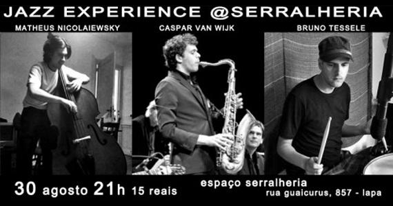 Evento Jazz Experience acontece na noite desta quinta no Serralheria Eventos BaresSP 570x300 imagem