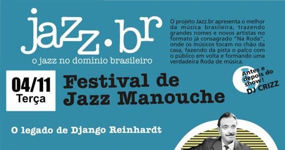 Festival de Jazz Manouche acontece no Bourbon Street Music Club Eventos BaresSP 570x300 imagem