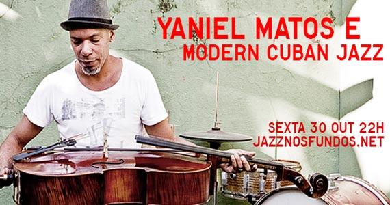 Jazz Nos Fundos recebe show de Yaniel Matos e Modern Cuban Jazz  Eventos BaresSP 570x300 imagem